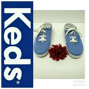 Keds Light Blue Mule Sneakers-Sz. 8